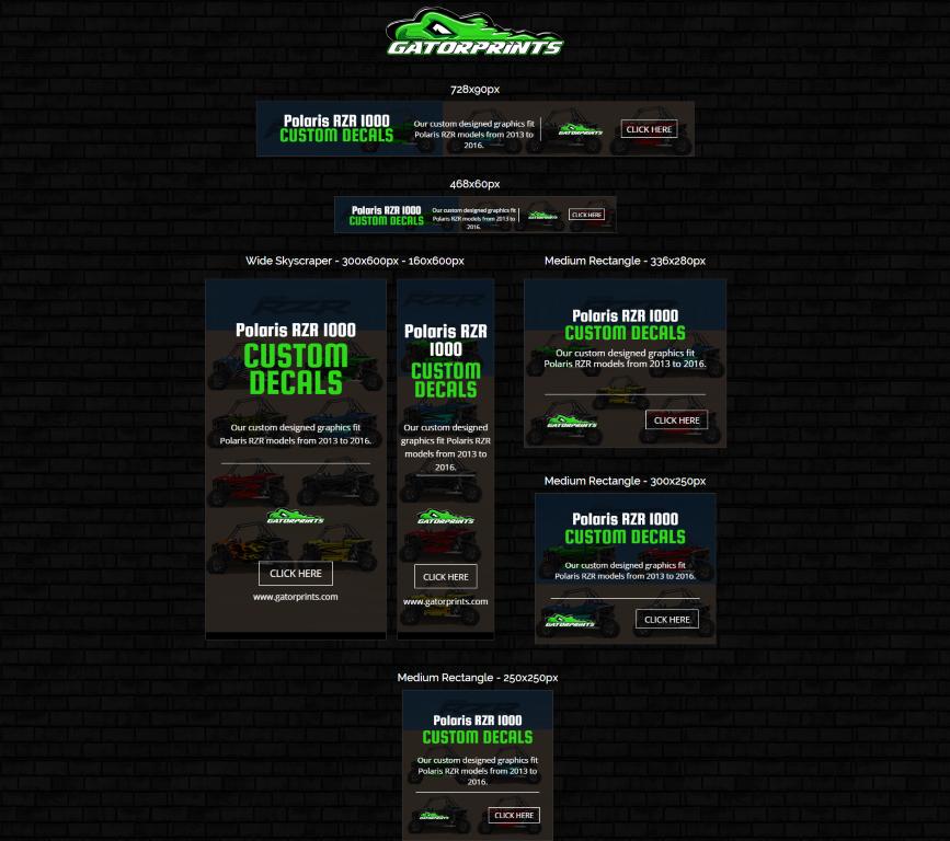 Gatorprints - Ad Banners