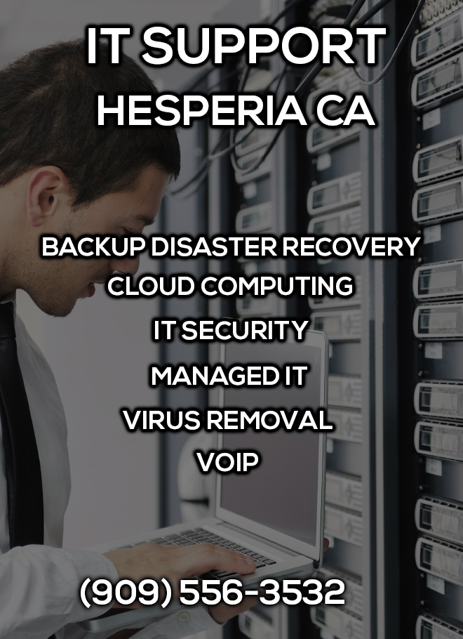 IT Support Hesperia CA