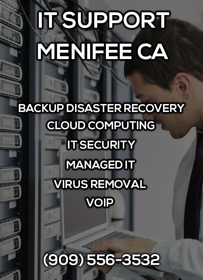 IT Support Menifee CA