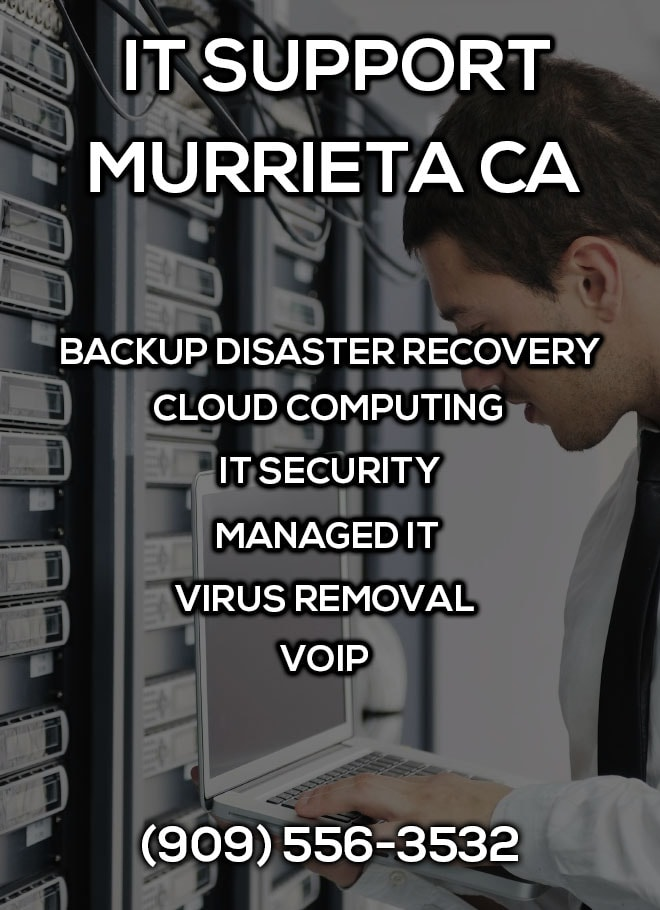 IT Support Murrieta CA