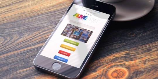 Alive Print Website Design