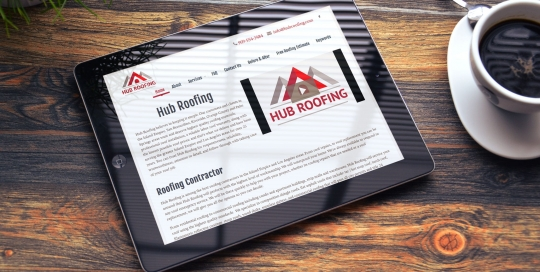 Hub Roofing Website