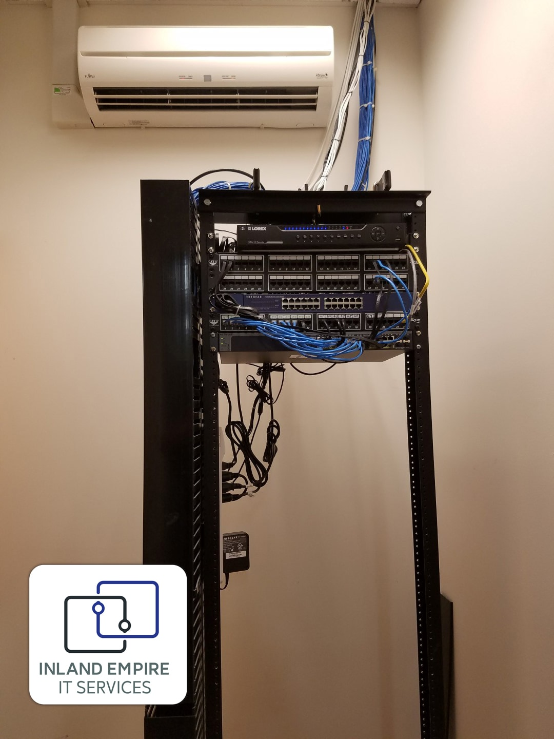 IT Services Network Setup New Office