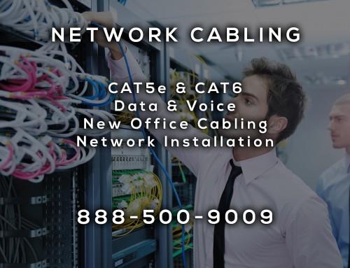 Network Cabling in Vista CA