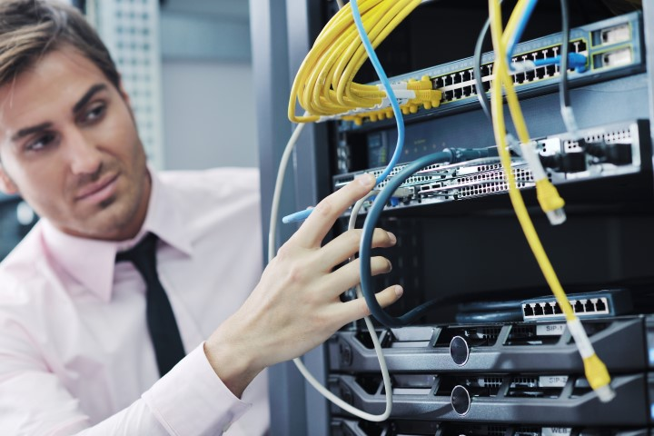 Network Data Cabling in Irvine CA
