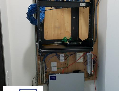 CAT6 Network Rack Installation