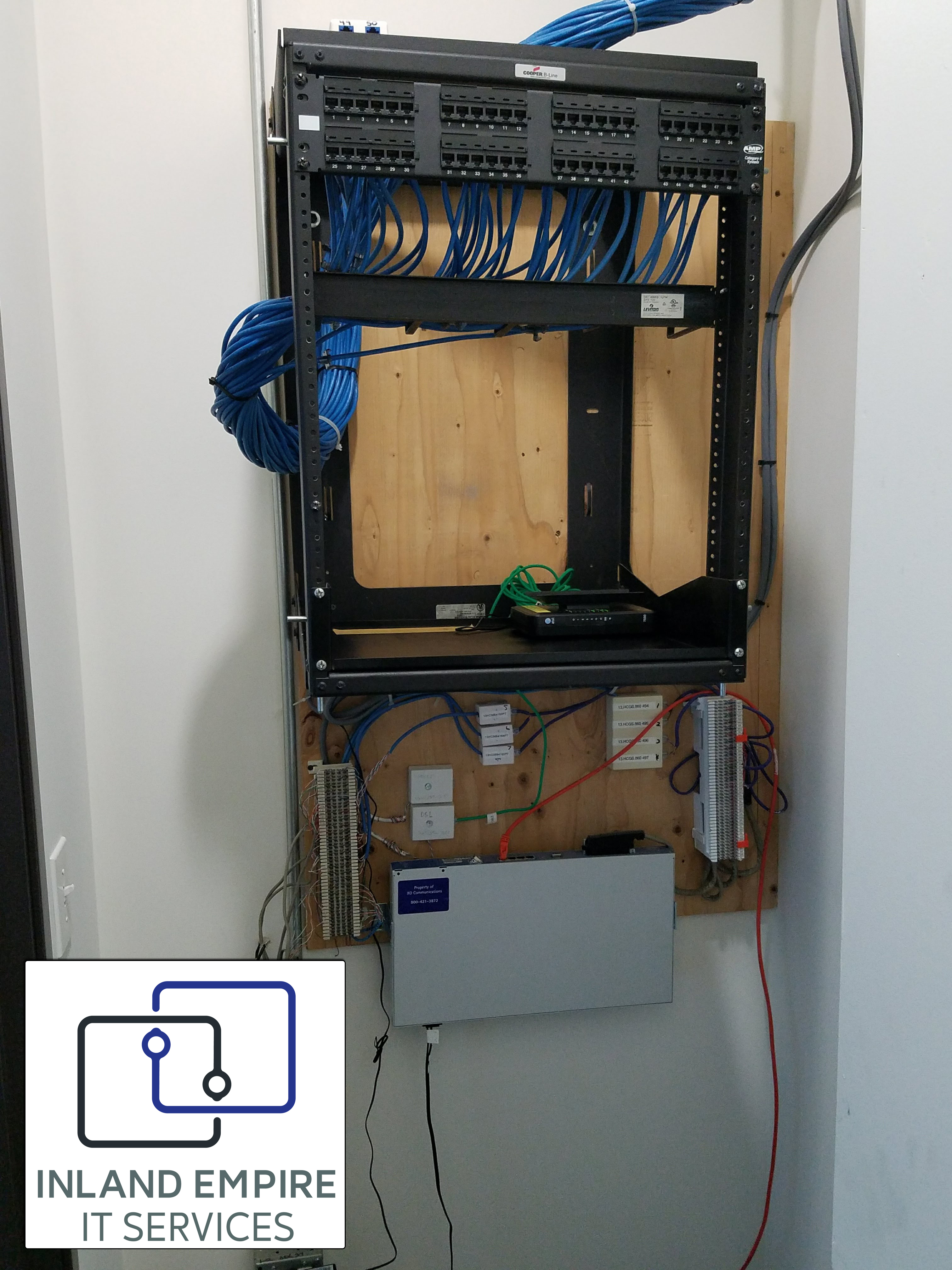 Network Rack - CAT6 Installation