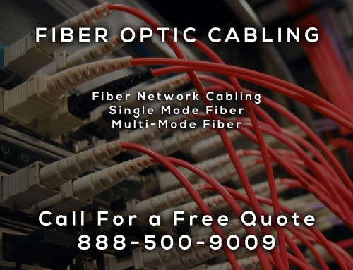 Fiber Optic Cabling in Fountain Valley CA