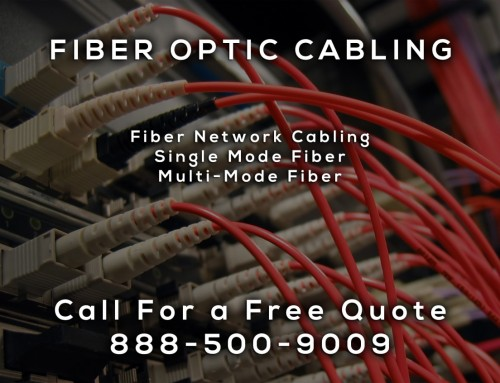 Fiber Optic Cabling in La Mesa CA