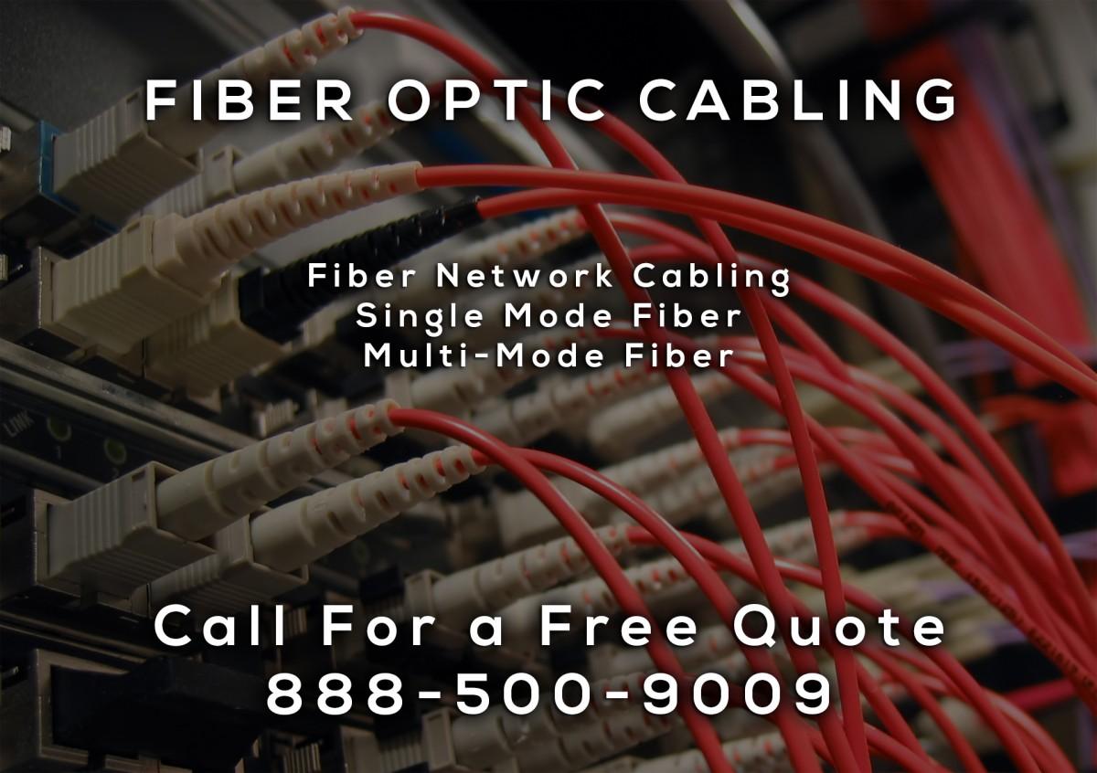 Fiber Optic Cable Installation in California City