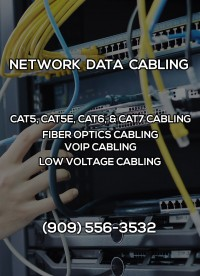 Network Data Cabling in Jurupa Valley CA