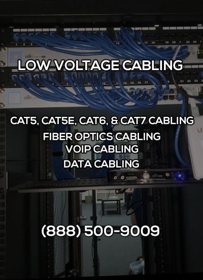 Low Voltage Cabling in Eastvale CA