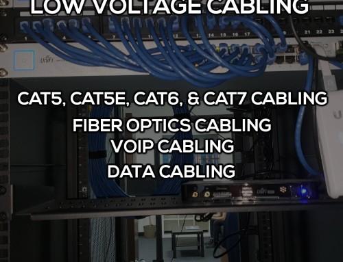 Low Voltage Cabling in Moreno Valley CA