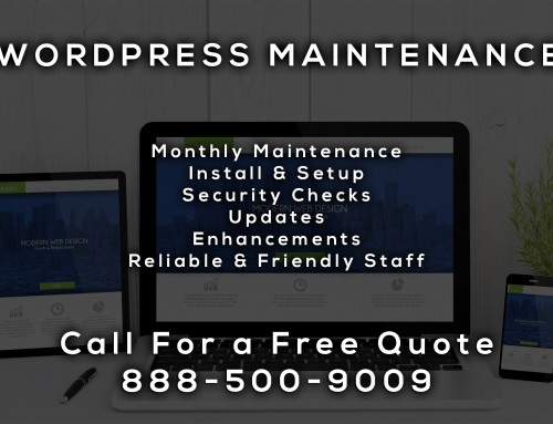 WordPress Maintenance Services City of Commerce CA