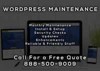 WordPress Maintenance Services San Fernando CA