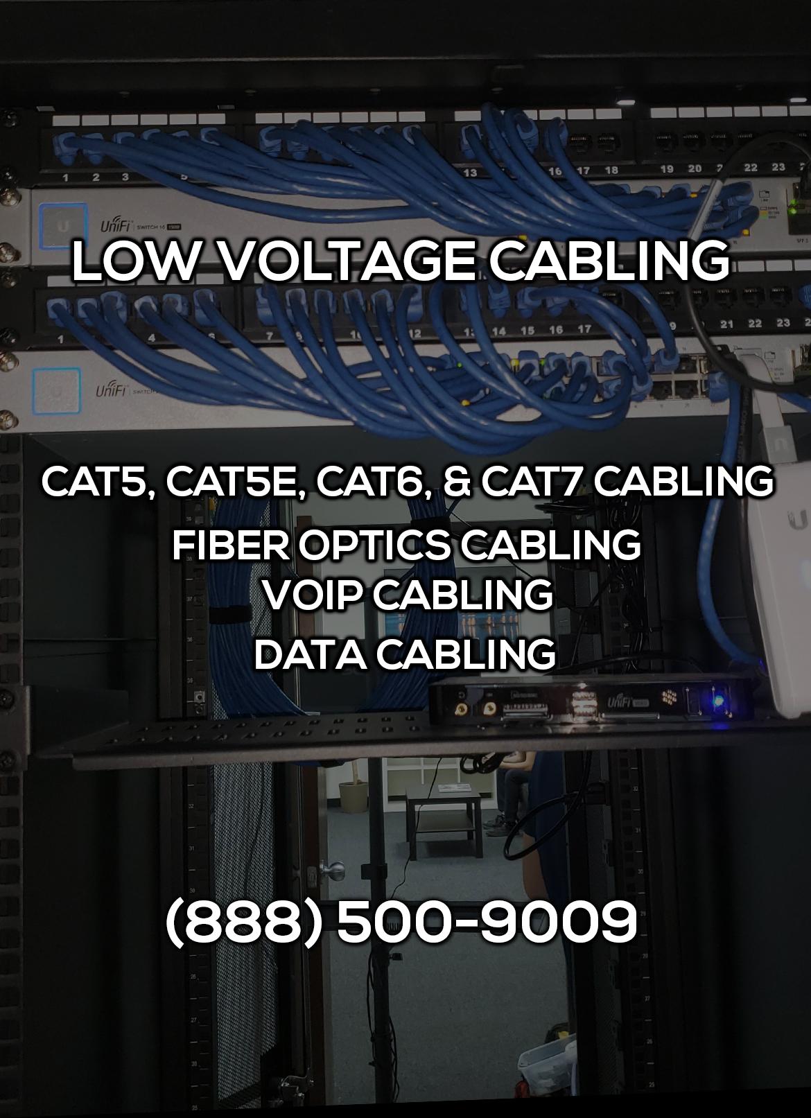 Low Voltage Cabling in Orange